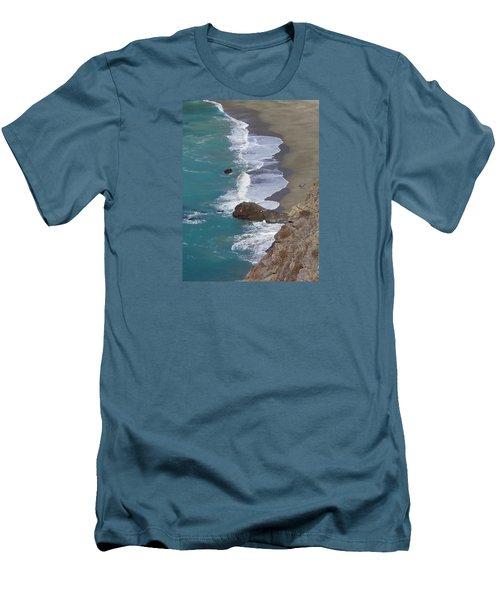 Big Sur Surf Men's T-Shirt (Athletic Fit)