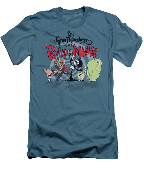 Billy And Mandy - Group Shot Men's T-Shirt (Athletic Fit)