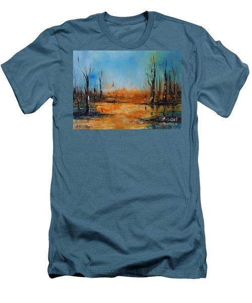 Birches Pond Men's T-Shirt (Athletic Fit)