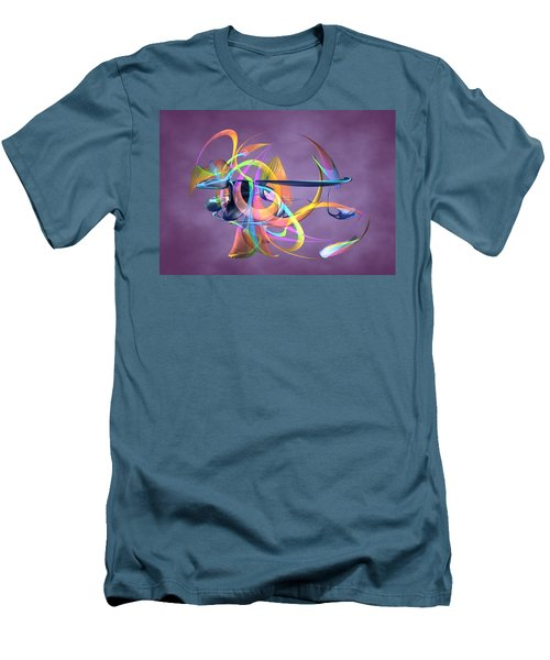 Bird-of-paradise - Abstract Men's T-Shirt (Athletic Fit)