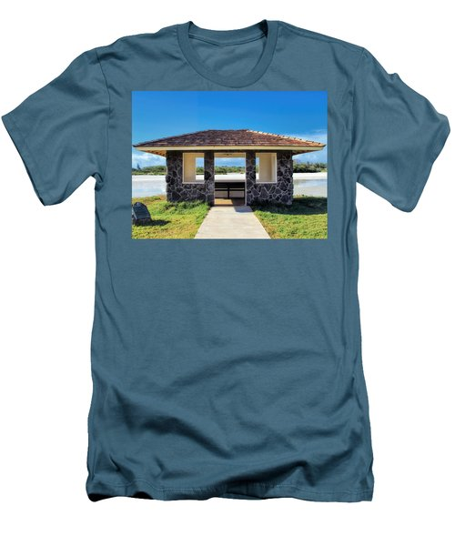Men's T-Shirt (Slim Fit) featuring the photograph Bird Sanctuary 2 by Dawn Eshelman