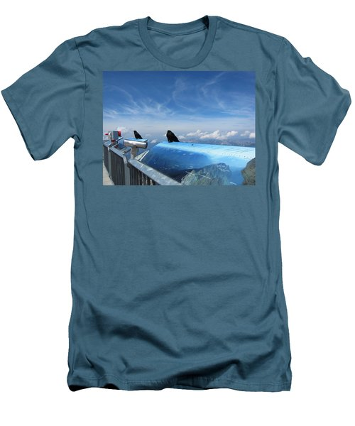 Men's T-Shirt (Slim Fit) featuring the photograph Bird Watch by Pema Hou
