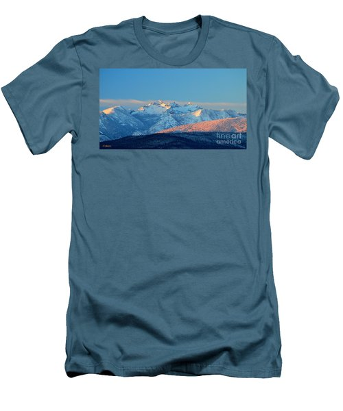 Bitterroot Mountain Morning Men's T-Shirt (Athletic Fit)