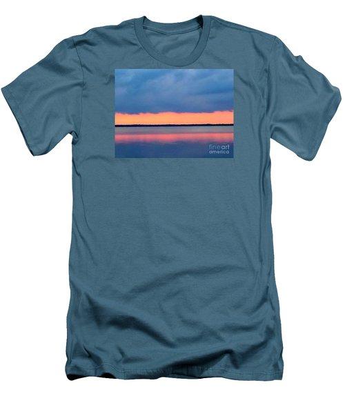 Black Hammock Sunset 2 Men's T-Shirt (Athletic Fit)