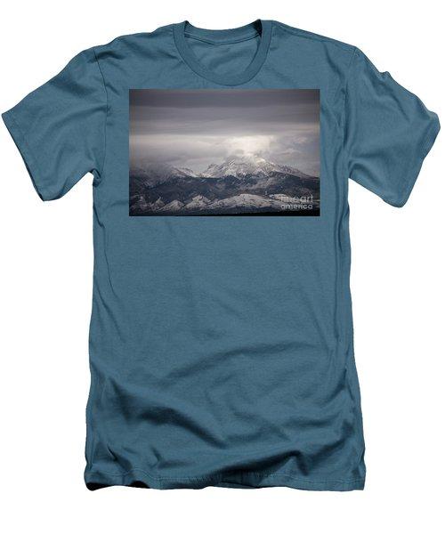 Blanca Peak Men's T-Shirt (Athletic Fit)