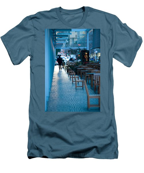Blue Afternoon San Francisco Men's T-Shirt (Athletic Fit)