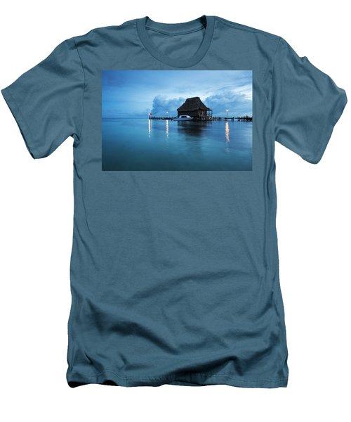 Blue Hour Landscape Men's T-Shirt (Athletic Fit)