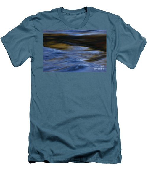 Men's T-Shirt (Slim Fit) featuring the photograph Blue Georgia Impressions by John F Tsumas