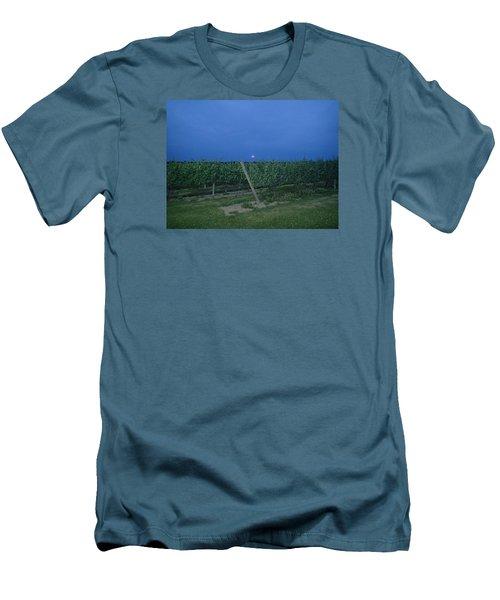 Blue Moon Men's T-Shirt (Slim Fit) by Robert Nickologianis