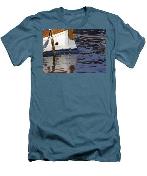 Blue Rudder Men's T-Shirt (Athletic Fit)