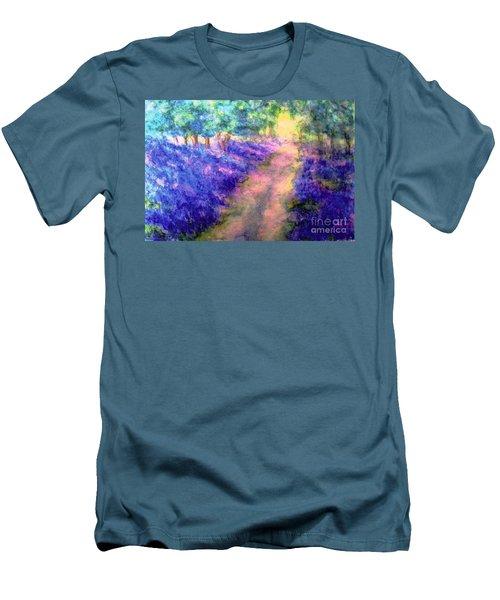Bluebell Woods Men's T-Shirt (Slim Fit) by Hazel Holland