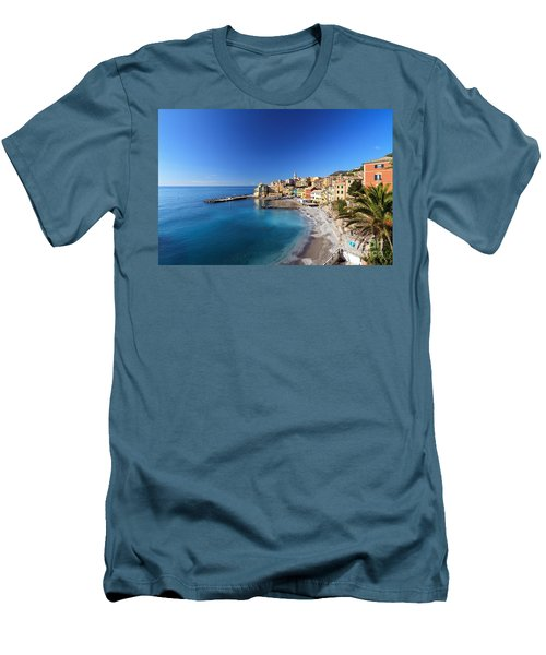 Bogliasco Village. Italy Men's T-Shirt (Athletic Fit)