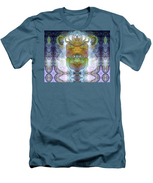Men's T-Shirt (Slim Fit) featuring the digital art Bogomil Variation 15 by Otto Rapp