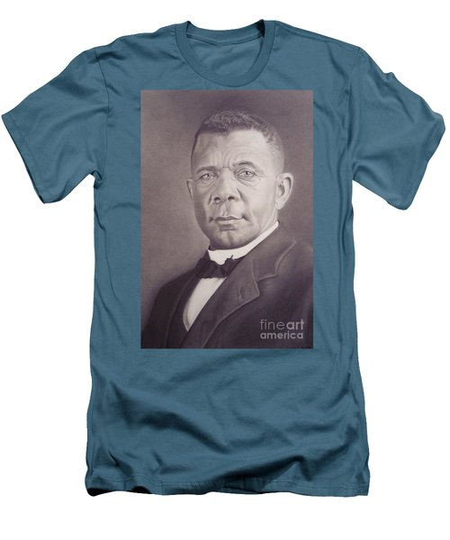 Booker T Washington Men's T-Shirt (Athletic Fit)