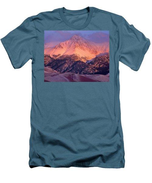 Borah Peak  Men's T-Shirt (Athletic Fit)