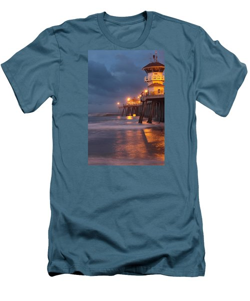 Men's T-Shirt (Slim Fit) featuring the photograph Breaking  Dawn  by Duncan Selby