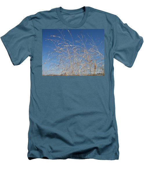 Men's T-Shirt (Slim Fit) featuring the photograph Breeze by Sara  Raber