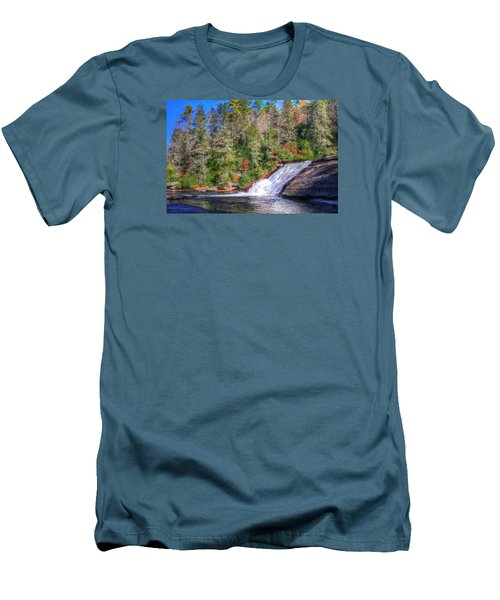 Bridal Veil Falls Men's T-Shirt (Athletic Fit)