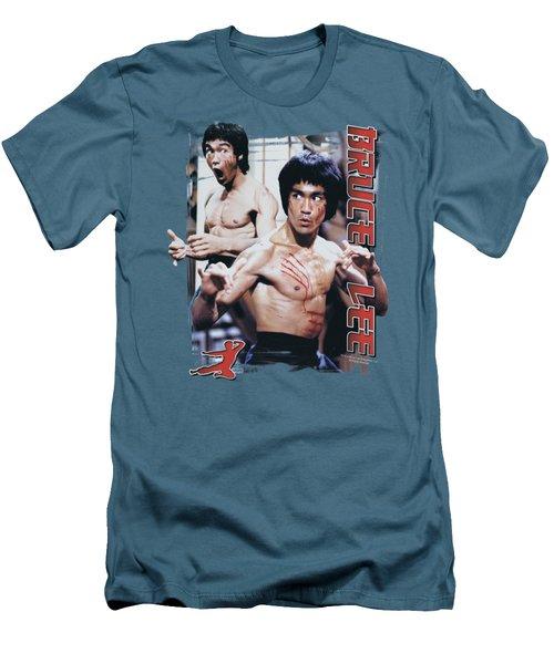 Bruce Lee - Enter Men's T-Shirt (Slim Fit) by Brand A