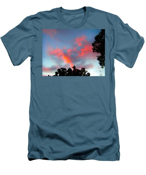 Men's T-Shirt (Slim Fit) featuring the photograph Brush Strokes by Zafer Gurel