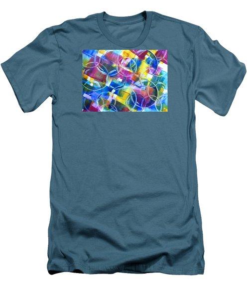 Bubble Fun Men's T-Shirt (Athletic Fit)