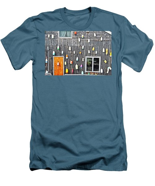 Buoy Wall Men's T-Shirt (Athletic Fit)