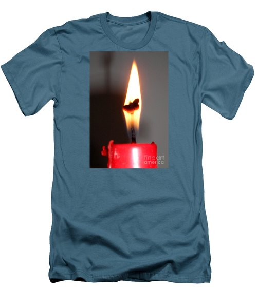 Butterfly Flame Men's T-Shirt (Athletic Fit)
