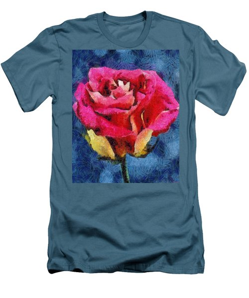 Men's T-Shirt (Slim Fit) featuring the digital art By Any Other Name by Joe Misrasi