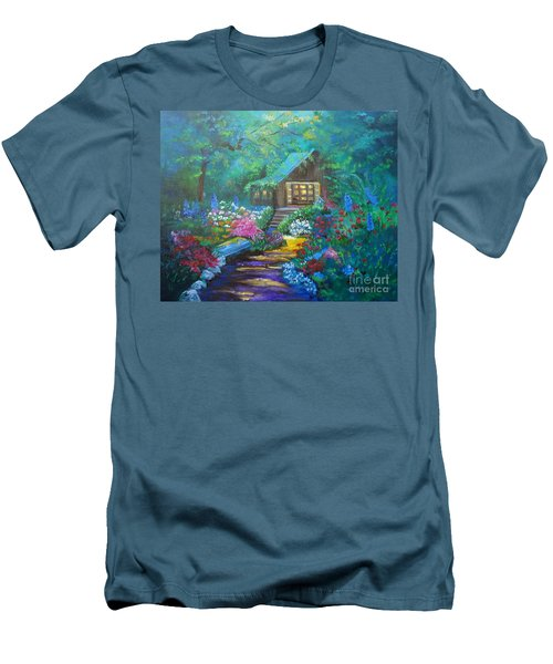 Cabin In The Woods Jenny Lee Discount Men's T-Shirt (Athletic Fit)