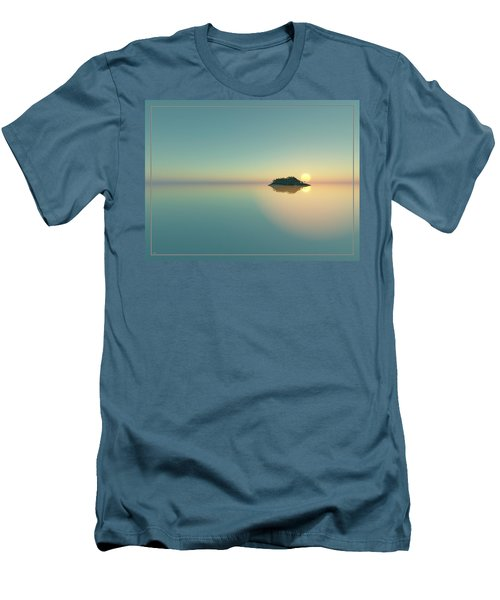 Calm Seas Sunset... Men's T-Shirt (Athletic Fit)