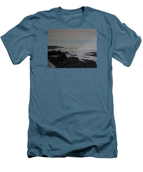 Cambria Tidal Pools Men's T-Shirt (Athletic Fit)