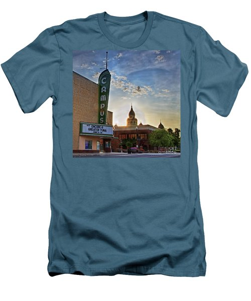 Campus At Sunrise Men's T-Shirt (Athletic Fit)