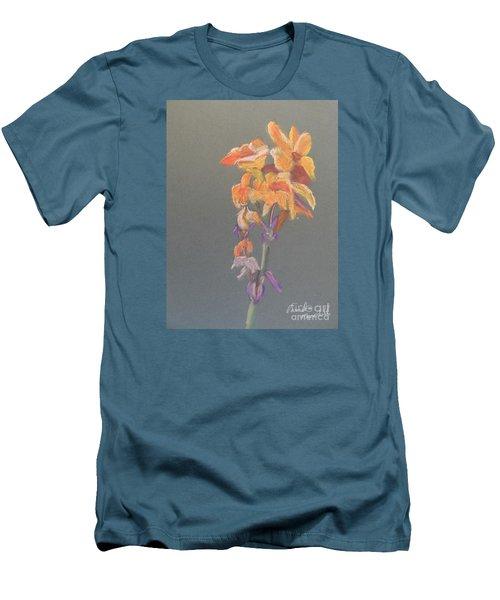 Canna Men's T-Shirt (Slim Fit) by Pamela  Meredith
