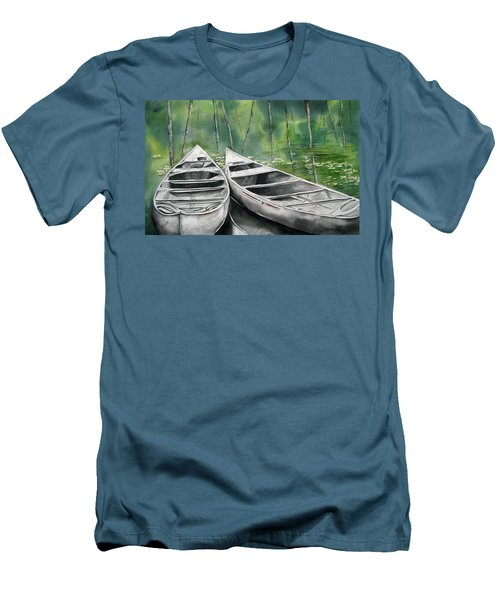 Canoes To Go Men's T-Shirt (Athletic Fit)