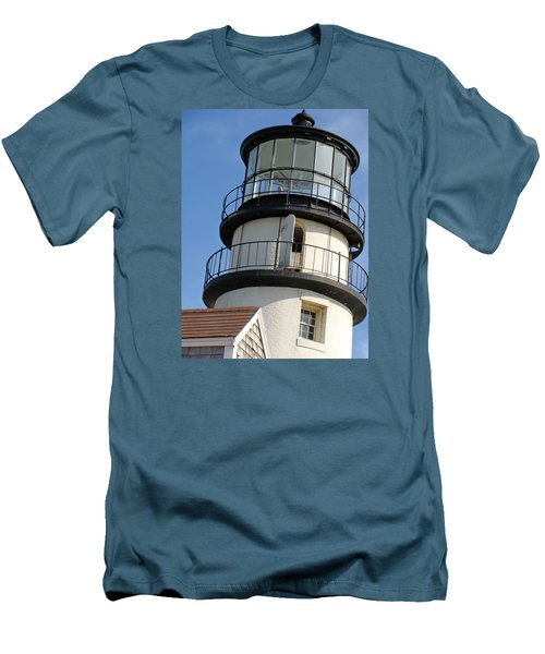 Men's T-Shirt (Slim Fit) featuring the photograph Cape Cod Lighthouse by Ira Shander