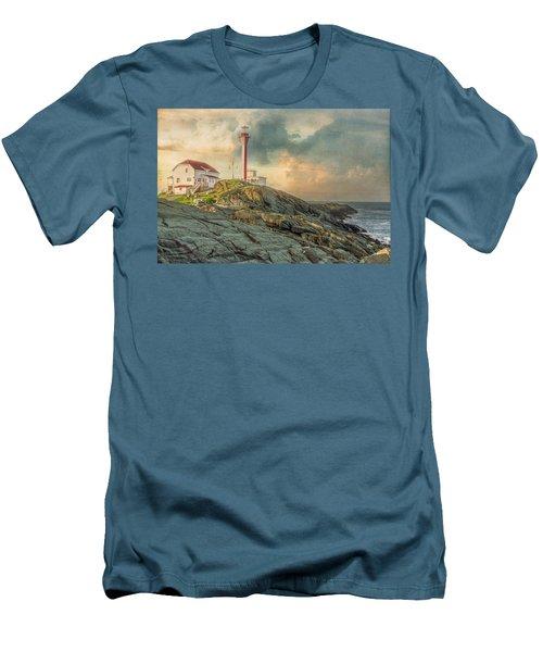 Cape Forchu  Men's T-Shirt (Athletic Fit)
