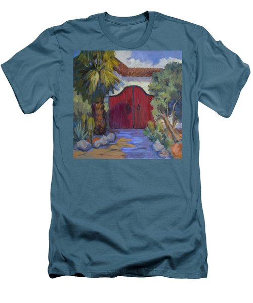 Casa Tecate Gate 2 Men's T-Shirt (Slim Fit) by Diane McClary