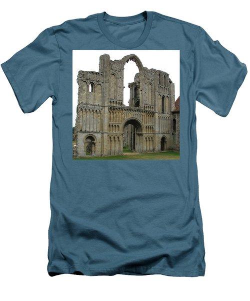 Men's T-Shirt (Slim Fit) featuring the photograph Castle Acre Abbey by Stephanie Grant