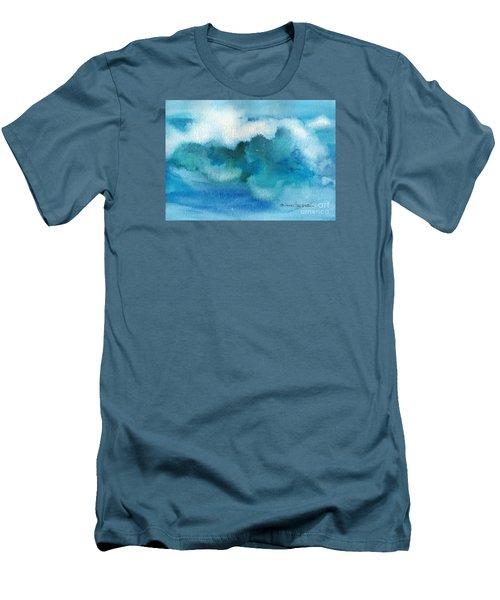 Catch The Wave Men's T-Shirt (Slim Fit) by Joan Hartenstein