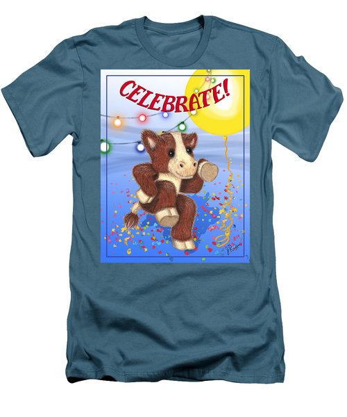 Celebrate Men's T-Shirt (Slim Fit) by Jerry Ruffin