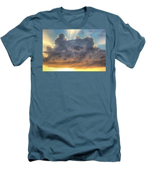 Celestial Rays Men's T-Shirt (Slim Fit) by Shelley Neff