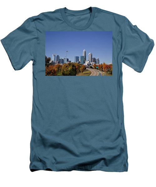 Charlotte North Carolina Men's T-Shirt (Athletic Fit)
