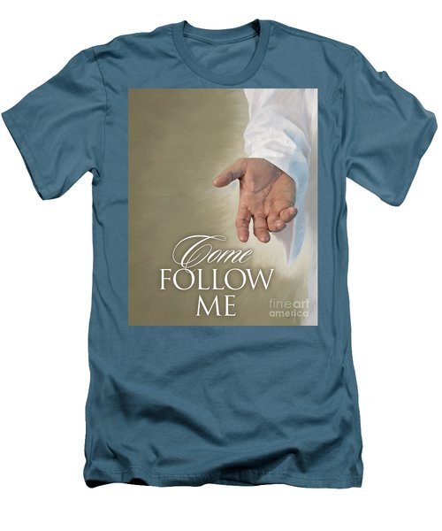 Christ's Hand Men's T-Shirt (Athletic Fit)
