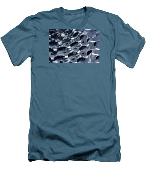 Chromed Shiny Gear Shift Men's T-Shirt (Athletic Fit)