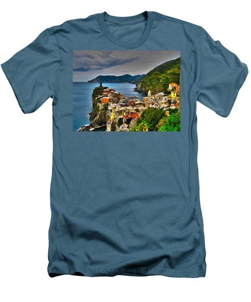 Cinque Terra Men's T-Shirt (Athletic Fit)