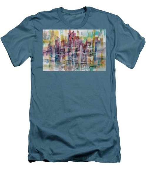 City Reflections Men's T-Shirt (Athletic Fit)