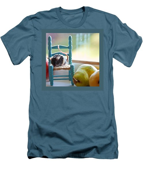 Clara's Favorite Chair Men's T-Shirt (Athletic Fit)
