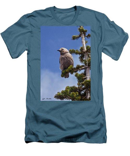 Clark's Nutcracker In A Fir Tree Men's T-Shirt (Athletic Fit)