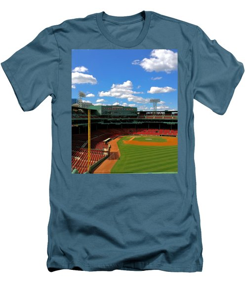 Classic Fenway I  Fenway Park Men's T-Shirt (Slim Fit) by Iconic Images Art Gallery David Pucciarelli