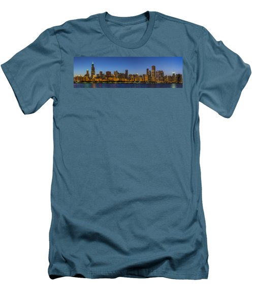 Men's T-Shirt (Slim Fit) featuring the photograph Clear Blue Sky by Sebastian Musial